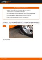 Kuinka vaihdat takaiskunvaimentimen tuen Volkswagen Golf IV (1J)-autoon