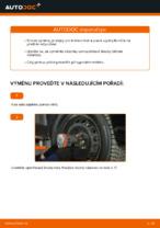 Jak vyměnit uložení přední vzpěry zavěšení kol na FIAT PUNTO 188