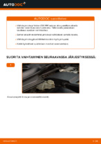 Milloin vaihtaa Jarrulevy VOLVO V50 (MW): käsikirja pdf