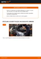 Instalação Calços de travão RENAULT SCÉNIC II (JM0/1_) - tutorial passo-a-passo