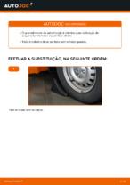 Como mudar e ajustar Braço oscilante de suspensão esquerdo e direito: guia pdf gratuito