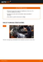 RENAULT aizmugurē un priekšā Bremžu uzlikas nomaiņa dari-to-pats - tiešsaistes instrukcijas pdf