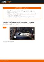 Auswechseln Federbein VOLVO V70: PDF kostenlos