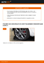VW GOLF VI (5K1) Domlager wechseln vorne und hinten: Anleitung pdf