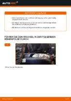 Austauschen von Fahrwerksfedern Anweisung PDF für VOLVO V70