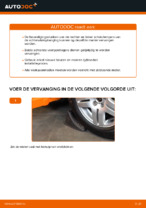Hoe een schokdemperbevestiging van een Volkswagen Golf IV (1J) vervangen
