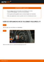 Hoe de voorste veerpootbevestiging van een FIAT PUNTO 188 vervangen