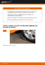 Cómo reemplazar el soporte de amortiguador trasero en un Volkswagen Golf IV (1J)