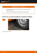 Come sostituire il braccio inferiore della sospensione indipendente anteriore su OPEL ASTRA G (T98, F08, F48)