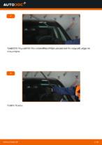 Αλλαγή Καθαριστήρα εμπρος και πίσω MERCEDES-BENZ A-CLASS: online εγχειριδιο