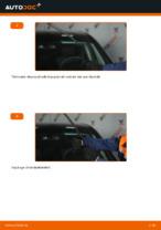 Kuidas vahetada esimesi klaasipuhasteid autol Mercedes-Benz W169