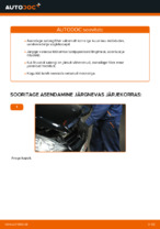 Kuidas vahetada salongiõhu diltrit autol Mercedes-Benz W169