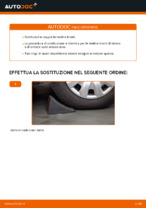 Come sostituire la testina tirante dello sterzo su Mercedes-Benz W169