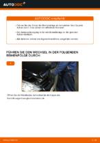 Bremsbeläge wechseln MERCEDES-BENZ A-CLASS: Werkstatthandbuch