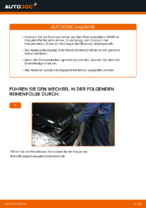 Wie der Austausch der hinteren Bremsscheiben bei einem Mercedes-Benz W169 funktioniert