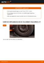 CITROËN C3 achter rechts Stabilisatorkoppelstang vervangen: online instructies