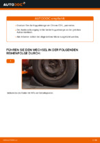 Wann Koppelstange Stabilisator auswechseln: PDF Tutorial für CITROËN C3 I (FC_)