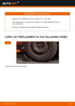 DIY CHRYSLER change Brake shoe kits rear and front - online manual pdf