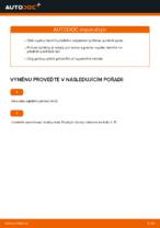 Jak vyměnit vzpěru předního tlumiče na autě Volkswagen Golf V (1K)