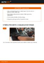 Jak vyměnit lištu předního stěrače na autě VOLKSWAGEN TRANSPORTER T4 (70XB, 70XC, 7DB, 7DW)