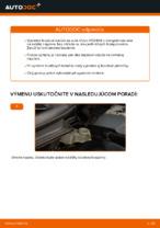 Ako vymeniť Gumy stabilizátora na VOLVO V50 (MW) - manuály online