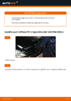 PDF priročnik za zamenjavo: Zracni filter MERCEDES-BENZ
