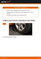 Online bezplatné pokyny ako obnoviť Vzpera stabilizátora VOLVO V50 (MW)