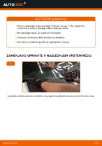 Kako zamenjati in prilagoditi Metlice brisalcev VW TRANSPORTER: vodnik pdf
