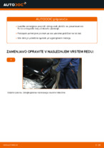 Zamenjavo Zavorne Ploščice MERCEDES-BENZ A-CLASS: navodila za uporabo