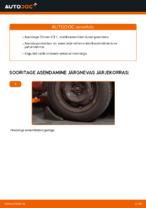 CITROËN - remondi käsiraamatud koos illustratsioonidega