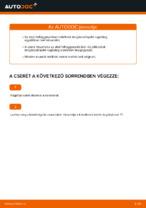 Hogyan cseréje és állítsuk be Lengéscsillapító VW GOLF: pdf útmutató