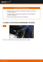 MERCEDES-BENZ A-CLASS Fékbetét készlet cseréje : ingyenes pdf