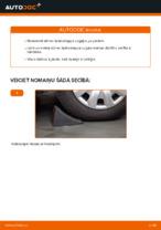 Stūres šķērsstiepņa uzgalis maiņa: pdf instrukcijas MERCEDES-BENZ A-CLASS
