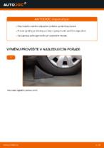 Jak vyměnit tlumiče zadní nápravy na Mercedes-Benz W169