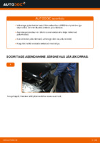 Kuidas asendada Mercedes-Benz W169 esimesi pidurikettaid