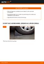 Kuidas vahetada tagumise suspensiooni amortisaatoreid autol Mercedes-Benz W169