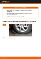 Kuidas vahetada tagumisis suspensiooni vedrusid Mercedes-Benz W169