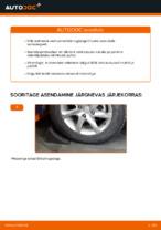 Kuidas vahetada esimese suspensiooni tugiposti kinnitust Mercedes-Benz W169