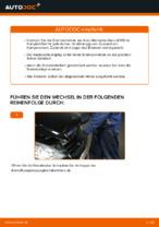 Wie Bremssattel Reparatursatz beim MERCEDES-BENZ A-CLASS (W169) wechseln - Handbuch online