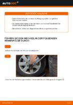 MERCEDES-BENZ Stoßdämpfer Satz Gasdruck wechseln - Online-Handbuch PDF