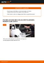 Schrittweises Tutorial zur Reparatur für VW TRANSPORTER V Box (7HA, 7HH, 7EA, 7EH)