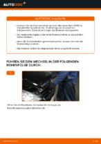 Wie der Austausch der vorderen Bremsscheiben bei einem Mercedes-Benz W169 funktioniert
