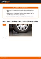 Montage Kit de roulement de roue MERCEDES-BENZ A-CLASS (W169) - tutoriel pas à pas