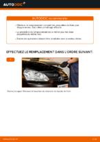 Comment remplacer les plaquettes de frein à disque avant sur une VOLKSWAGEN GOLF V (1K)