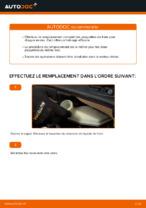 Comment changer Kit de plaquettes de frein arrière et avant CITROËN C3 I (FC_) - manuel en ligne