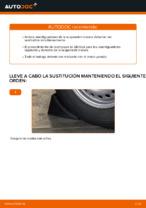Tutorial paso a paso en PDF sobre el cambio de Amortiguadores en VW TRANSPORTER