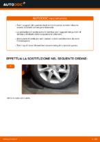 Come sostituire il montante supporto dell'ammortizzatore anteriore su Mercedes-Benz W169