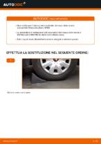 Come sostituire il cuscinetto del mozzo della ruota anteriore su Mercedes-Benz W169