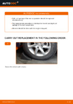 Free online instructions on how to renew Coil springs on MERCEDES-BENZ A-CLASS (W169)
