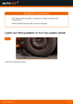 PDF replacement tutorial: Suspension arm CITROЁN rear and front